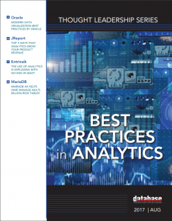 DBTA Best Practices in Analytics Report