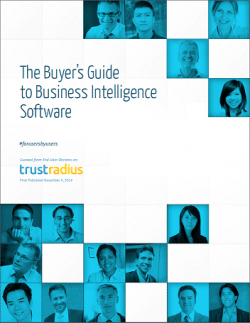TrustRadius 2014 Buyer's Guide to Business Intelligence Software
