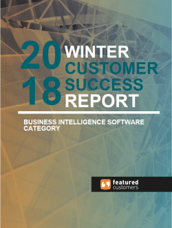"Entrinsik Informer named ""Top Performer"" for business intelligence tools in 2018 Winter Customer Success Report"
