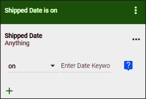 Create dates based on a keyword for data analysis